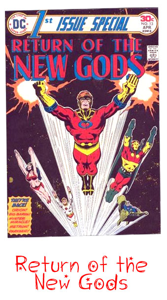 DC Comics Return of the New Gods