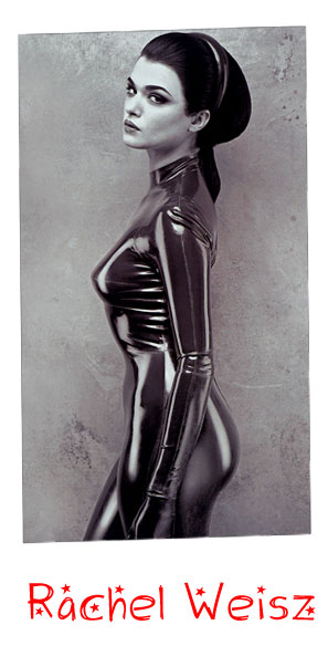 rachel weisz kiss. Rachel Weisz wrapped in rubber
