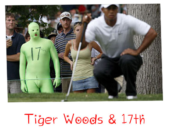 Tiger Woods & 17th