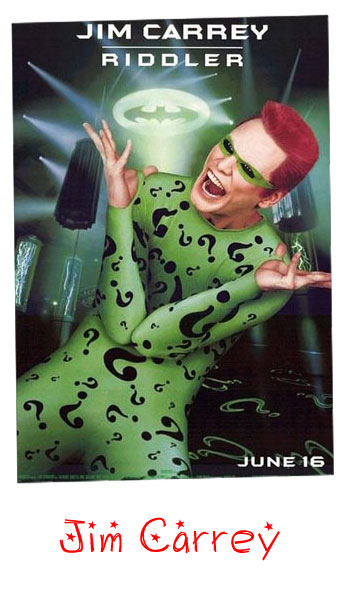 Jim Carrey Riddler