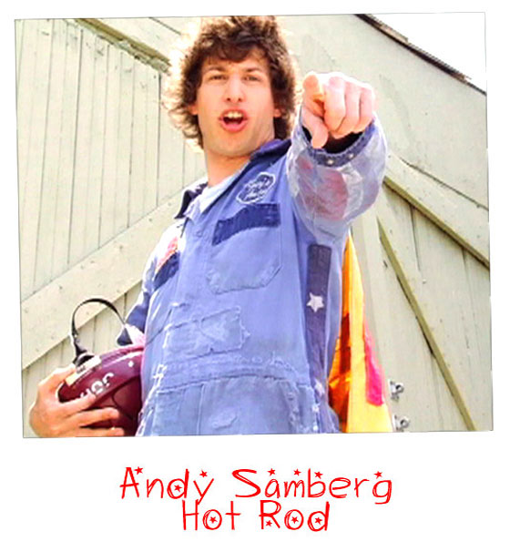 Andy Samberg jumpsuit